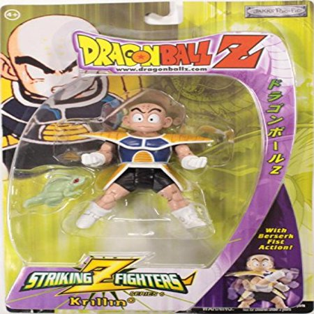 Dragonball Z Krillin In Saiyan Armor Action Figure Striking Z