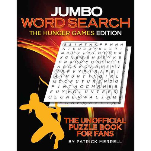 Jumbo Word Search the Hunger Games Edition: The Unofficial Puzzle Book for Fans