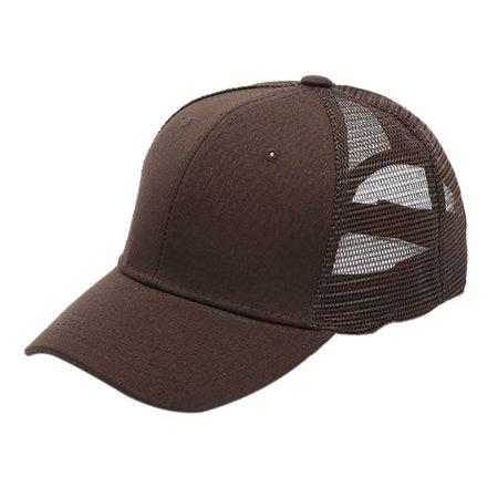 363304b6 Women Summer Mesh Ponytail Baseball Cap Messy Bun Snapback Sports Sun Hat
