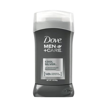 Dove Men+Care Cool Silver Deodorant Stick, 3 oz