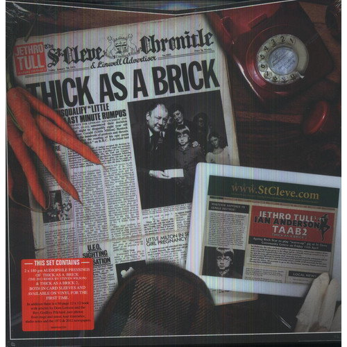 Thick As A Brick / Thick As A Brick 2 (Ogv) (Vinyl)