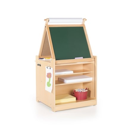 Desk to Easel Art Cart (Double Sided Art Easel)