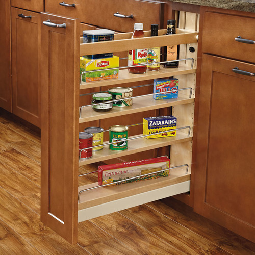 Rev-A-Shelf 5'' Ball-Bearing Soft-Close Base Cabinet Organizer