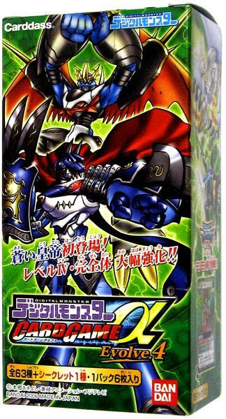 Digimon Japanese Evolve.4 Booster Box by