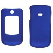 Two piece Soft Touch Snap-On Case for Samsung Contour SCH-R250 - Cobalt Blue