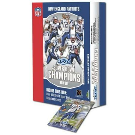 2005 Upper Deck New England Superbowl XXXIX Champions Card Box