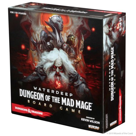 DUNGEONS & DRAGONS Waterdeep: Dungeon of the Mad Mage Adventure System Board Game (Premium Edition) Solar System Board Game