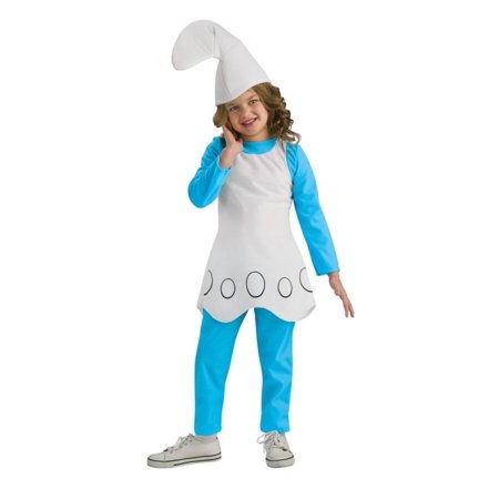 Smurfette Child  Costume - Kids Smurfette Costume