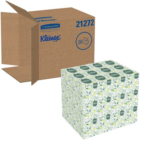 - Kimberly-Clark Professional, 21272, Kleenex Softblend Two-Ply White Facial Tissue, 95 sheets, 36 ct