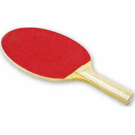 Economy Rubber Face Paddle, Red/Beige
