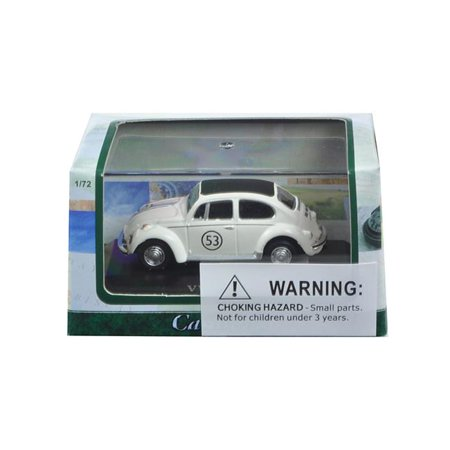 Cararama 71470 1 by 72 Scale Diecast Volkswagen Beetle 53 in Display Case Model Car Scale Model Car Parts
