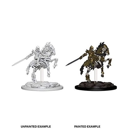 Deep Cuts Unpainted Minis: Skeleton Knight on Horse](Cut Out Skeleton)