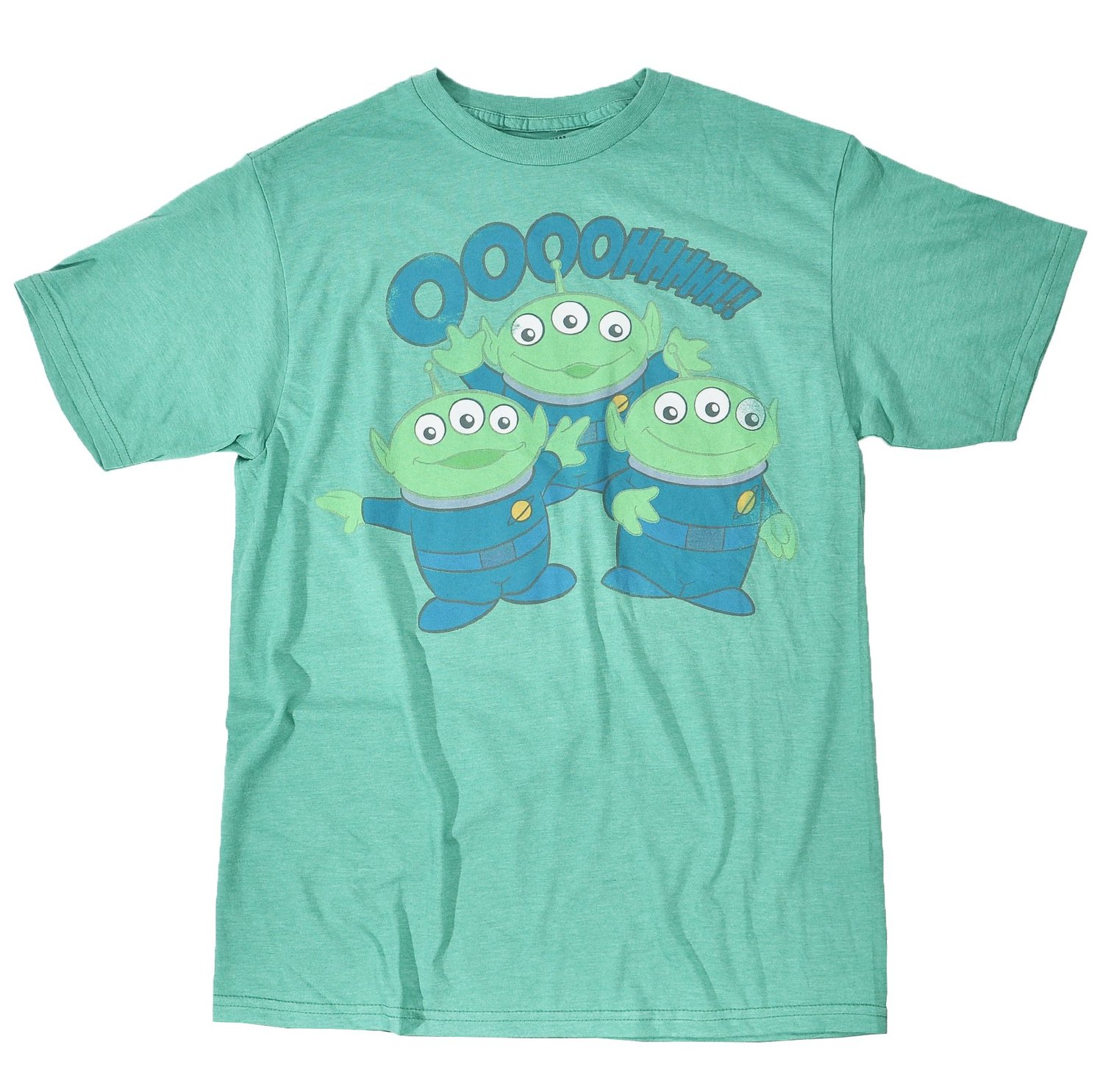 Peanuts Toy Story Mens Pizza Planet Aliens T Shirt 2xl Heather