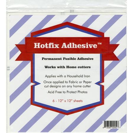 """Hotfix Permanent Fusible Adhesive Sheets 6/Pcs-12""""X12"""" - image 1 de 1"""
