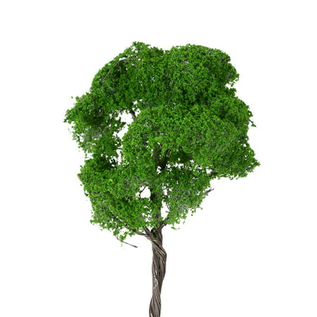 4.7 Inch Tree Model Architectural Model Railroad Layout Landscape Scenery Diorama Miniatures