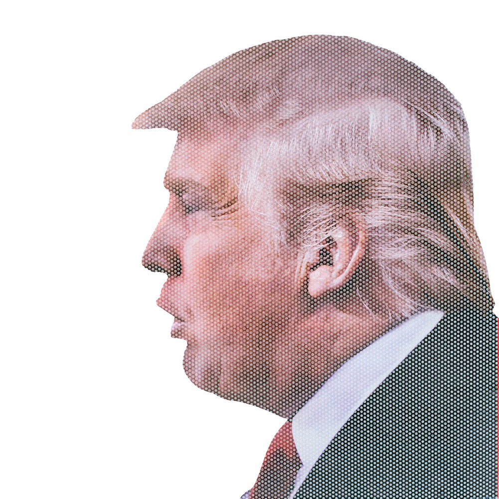 Ride With Donald Trump - Funny Car Window Decal Sticker