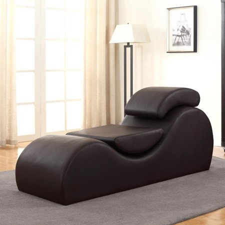 US Pride Furniture Devon Upholstered Chaise Lounge Chair