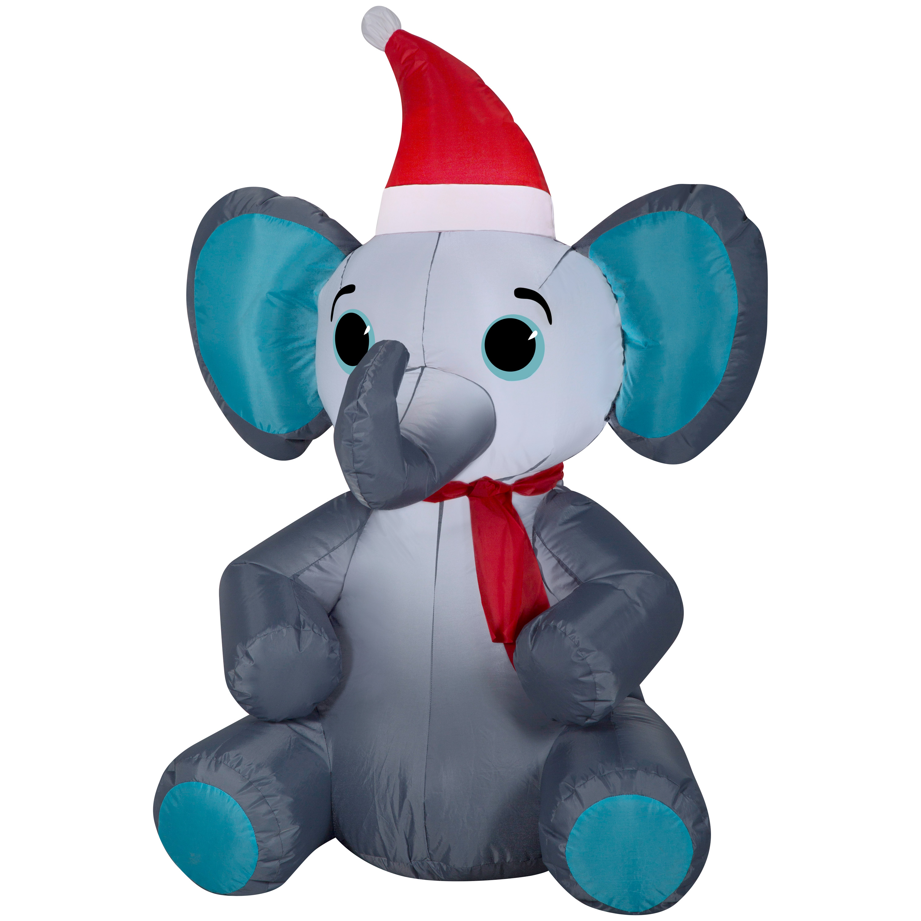 Airblown Christmas Inflatable Elephant 3.5' Tall