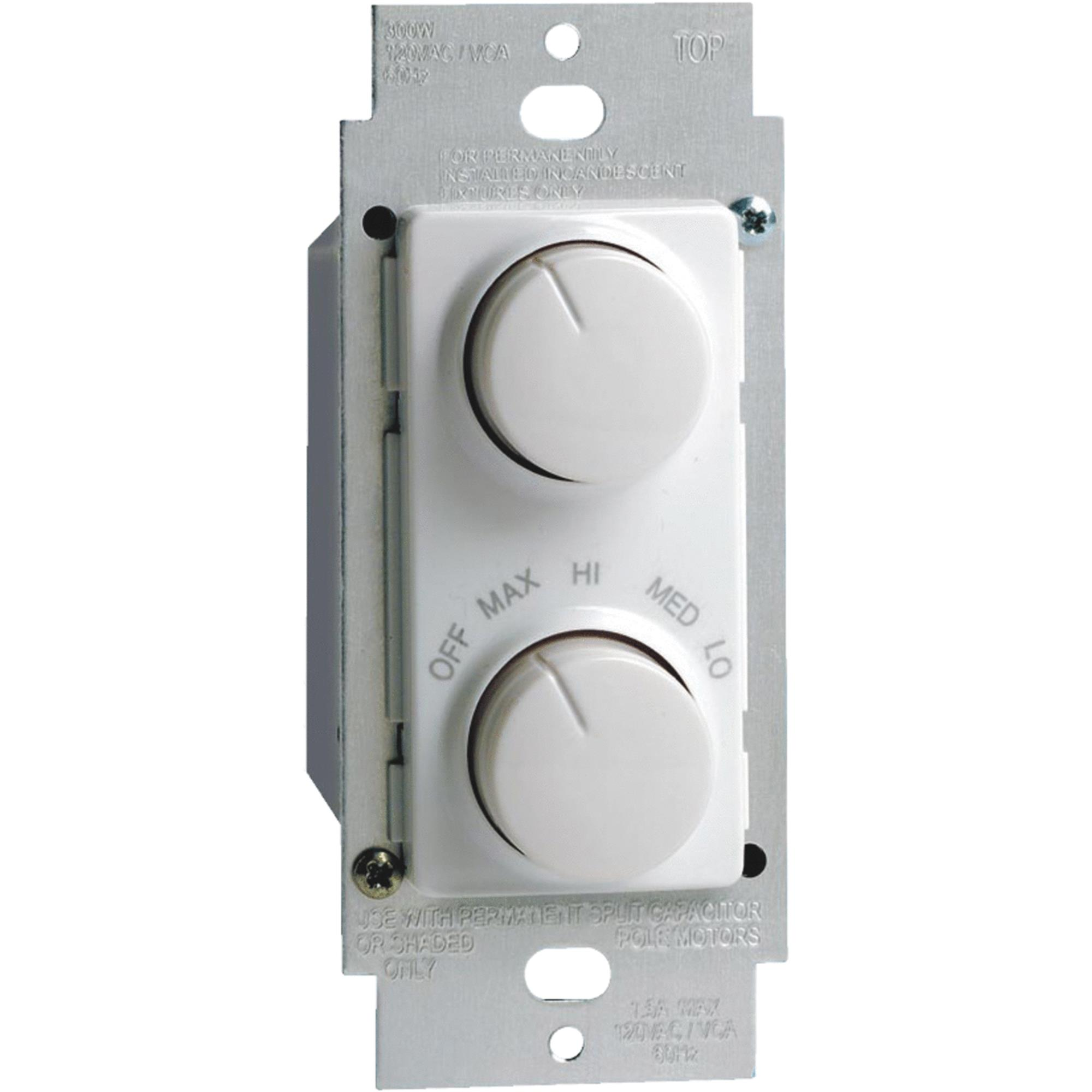 Leviton Light and Fan Control Switch by Leviton