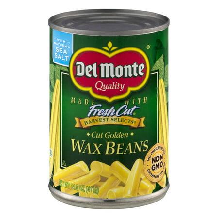 Del Monte Fresh Cut Harvest Selects Cut Golden Wax Beans  14 5 Oz