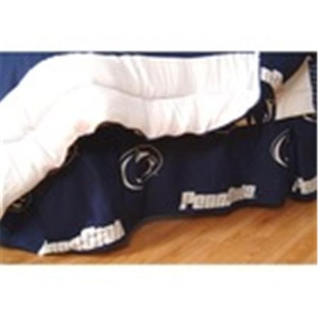 Comfy Feet PSUDRTW Penn State Printed Dust Ruffle Twin - image 1 of 1
