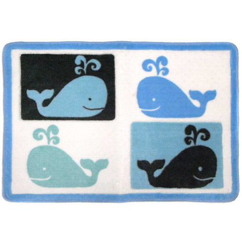 Whale Watch Bath Rug
