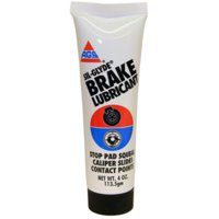 American Grease Stick (AGS) Sil-Glyde Silicone Brake Caliper Lubricant - Lubricates caliper slides - Stops pad squeal, 4 oz tube, sold by each