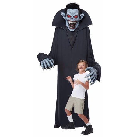 Towering Terror Vampire Halloween Costume Yard Decoration One Size Fits Most](Pretty Halloween Makeup Vampire)