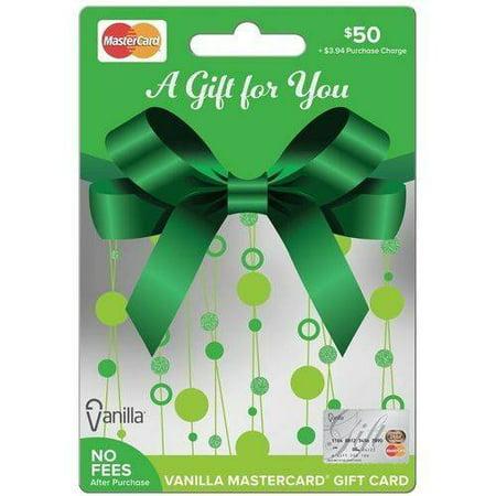 Mastercard  50 Gift Card