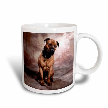 - 3dRose Bullmastiff, Ceramic Mug, 11-ounce