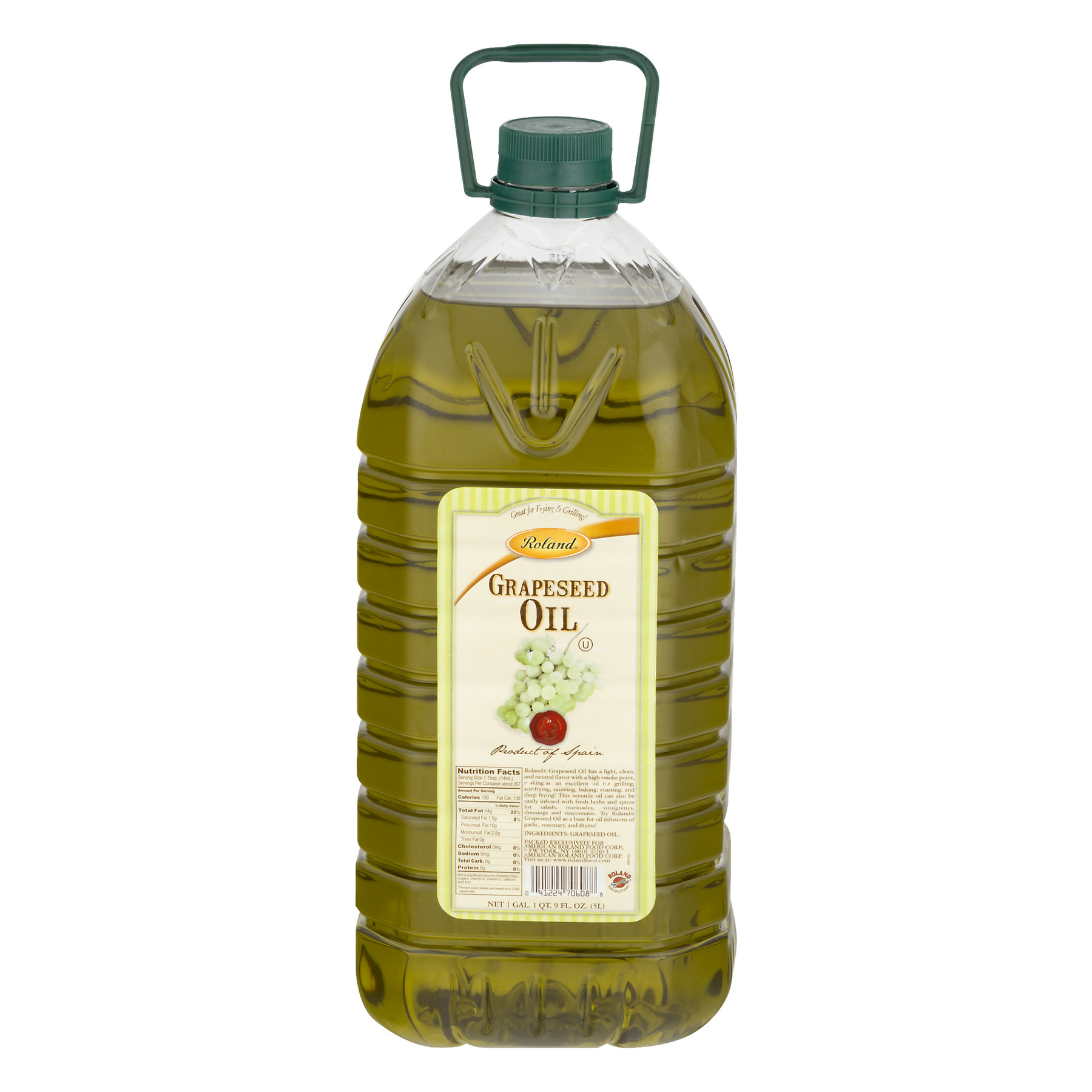 Roland Grapeseed Oil, 5.0 L