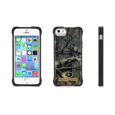 timeless design a9cd9 e2ca2 Griffin Griffin iPhone 5/5s, iPhone SE Case, Survivor Core Clear Protective  Case, Genuine Mossy Oak Camo, Extra Tough at the Corners