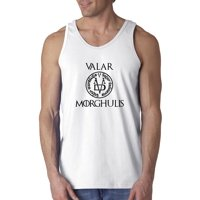 New Way 690 - Men's Tank-Top Valar Morghulis All Men Must Die Valyrian Game Of Thrones