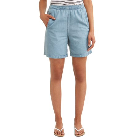 - Women's Pull On Denim Classic Shorts