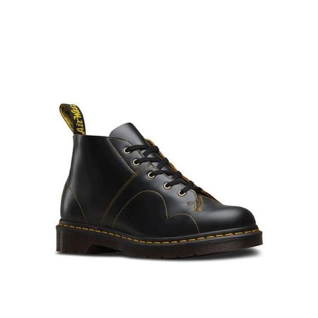 Dr. Martens Church Monkey Boot Black Uk 12 Black Smooth Chukka