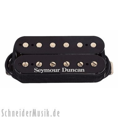 Seymour Duncan Tb-11 Custom Custom Trembucker Pickup, Zebra Cover