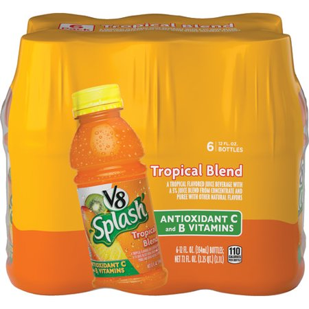 V8 Splash Tropical Blend, 12 oz., 6 pack (Best Green Juice Brand)
