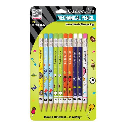 Cadoozles Mechanical Pencils, Assorted, 10pk