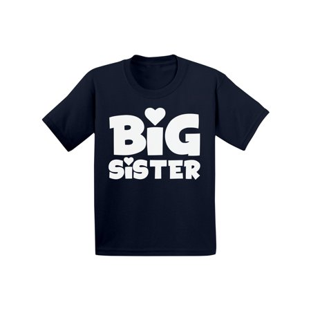 Awkward Styles Big Sister Outfit Best Sister Infant Shirt Cute B Day Gifts for Sister Sis Infant T-Shirt Girls Birthday Gifts Lovely Kids Clothes Collection I am Big Sister T-Shirt for