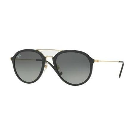 b7c919c5424fa RAY BAN - RAY BAN Sunglasses RB4253 601 71 Black 53MM - Walmart.com