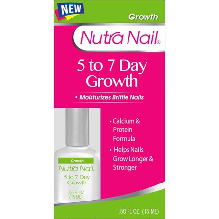 Nutra Nail Calcium Formula 5-to-7 Day Nail Growth, 0.45 fl oz