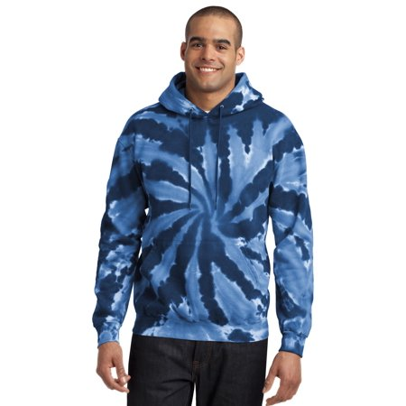 Port & Company PC146 Hoody Men's Essential Tie-Dye Pullover Hooded Sweatshirt