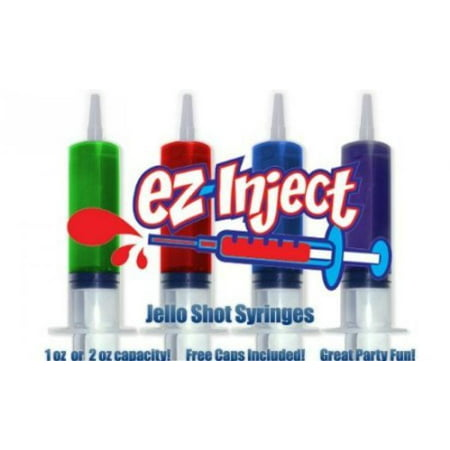 25 Pack EZ-InjectTM Jello Shot Syringes (Large 2.5oz)](Jello Shot Syringes Cheap)