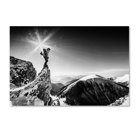 Trademark Fine Art 'Life At The Top' Canvas Art by Marian Krivosik