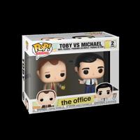 Funko POP TV: The Office - Michael vs Toby (2pk)