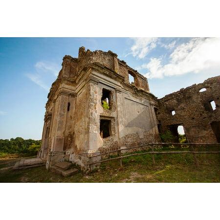 Canvas Print Italy Ruins Weekend Monterano Dead City Lazio Stretched Canvas 10 x 14