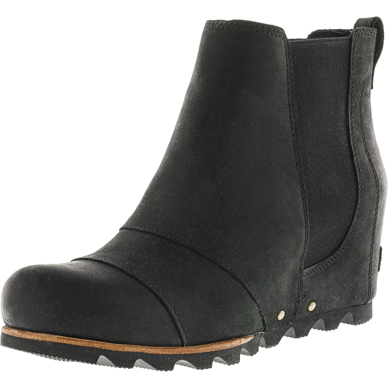 Sorel Sorel Womens Lea Wedge Black Quarry High Top Boot 9m