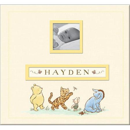 Disney Classic Pooh Frame-A-Name Postbound Album, 12