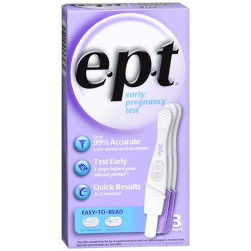 e.p.t. Pregnancy Tests 3 Each (Pack of 6)