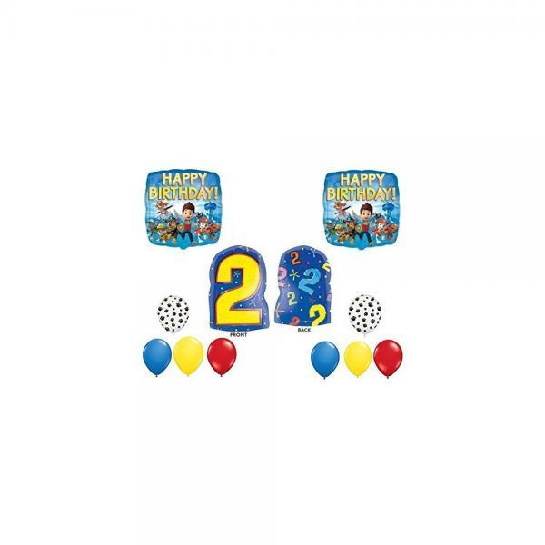 Paw Patrol 2nd Happy Birthday Balloon Decoration Kit